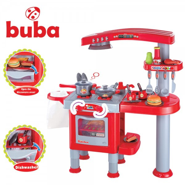 Buba - Детска кухня Your Kitchen червена fs818