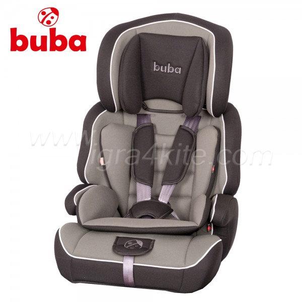 Buba - Perfetto столче за кола 9 - 36 кг. сиво/черно