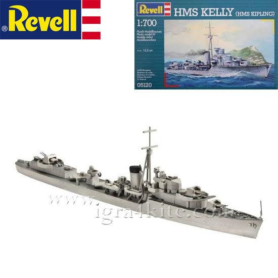 Revell - Военен кораб H.M.S Келли