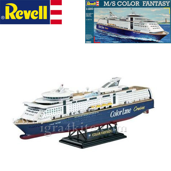 Revell - Кораб M/S Цветна Фантазия