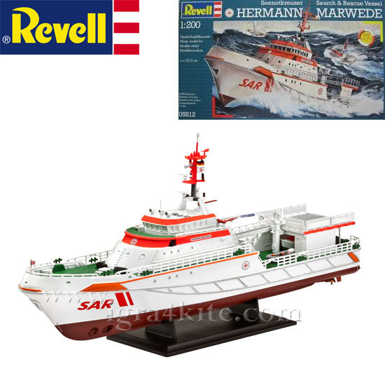 Revell -Кораб DGzRS Херман Маруед