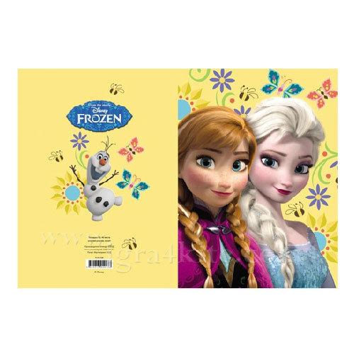 Disney Frozen - Тетрадка А5, 40листа Замръзналото кралство