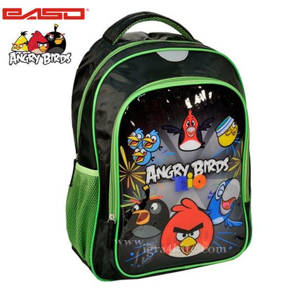 Paso Angry Birds - Ученическа раница Angry Birds agb-260