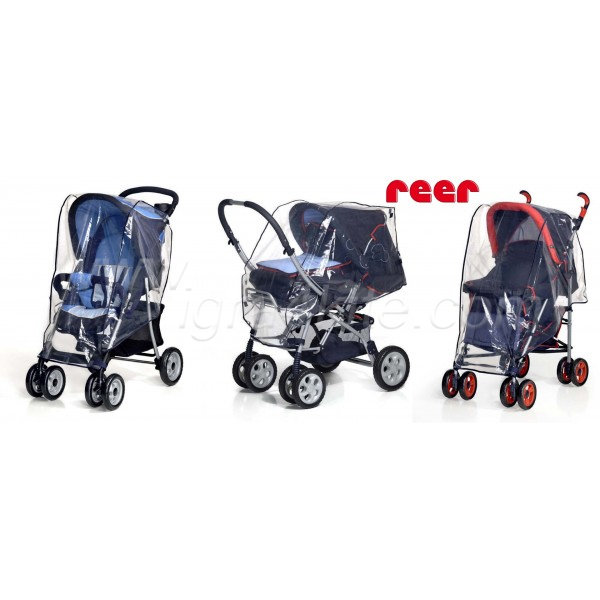 Reer - Универсален дъждобран за детска количка 3в1