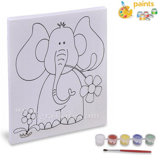 Комплект за оцветяване Слонче