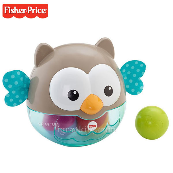 Fisher Price - Занимателно бухалче с топки CDN46