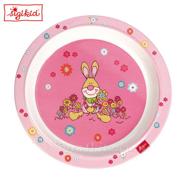 Sigikid - Bungee Bunny Детска меламинова чиния 24435