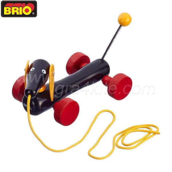 Brio - Играчка за дърпане Dachshund 30332