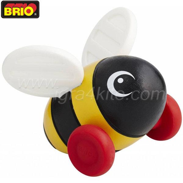 Brio - Мини играчка за бутане Пчеличка 30335