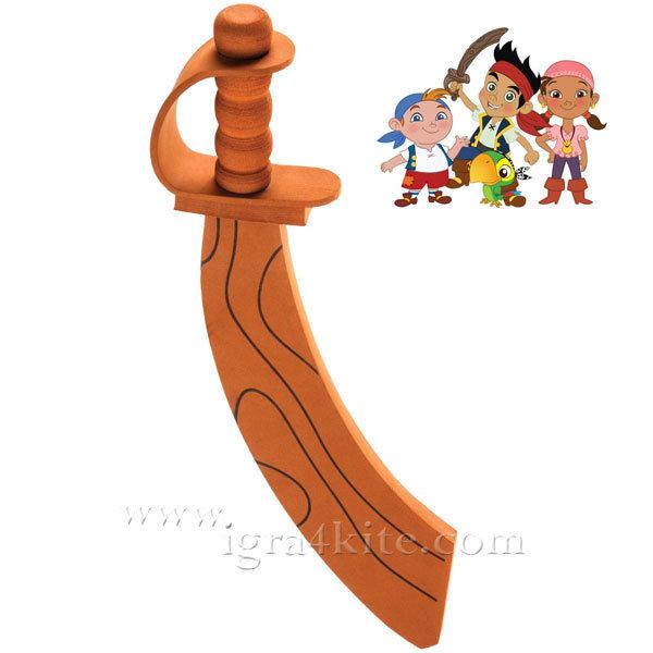 Mondo - Детска сабя за игра от пяна Джейк Пирата