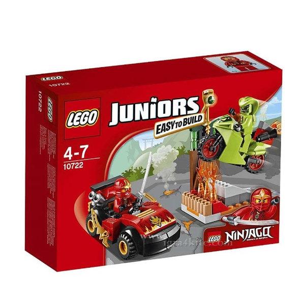 Lego 10722 Juniors Ninjago - Змийска схватка