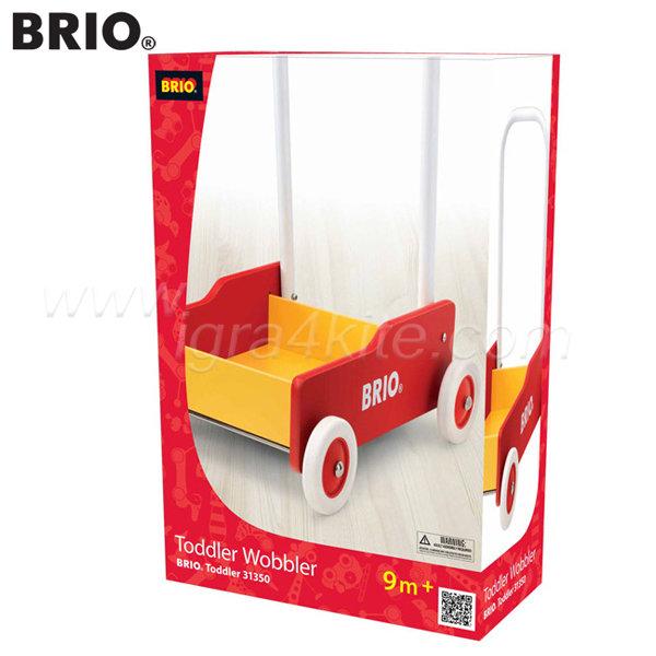Brio - Дървена количка за бутане 31350