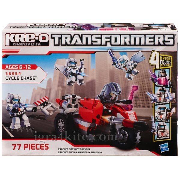 Transformers KRE-O - Трансформърс  KRE-O Преследване  36954