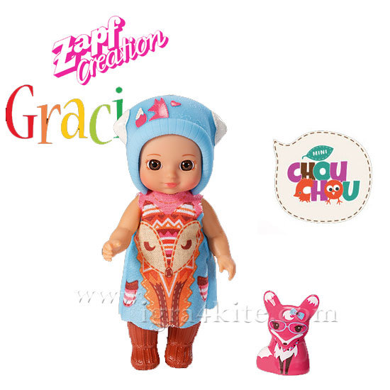 Chou Chou - Шу-Шу Мини Кукла Грейси с лисиче 920275
