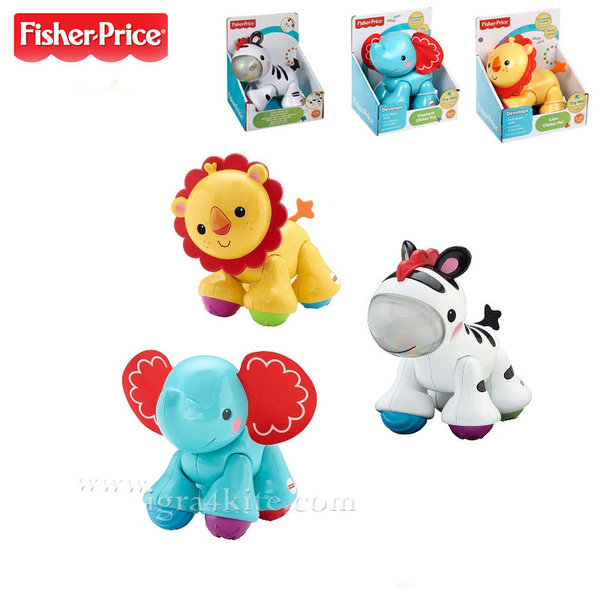 Fisher Price - Приятели животни Click-Clack cgg86