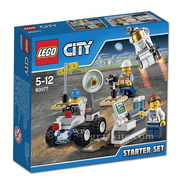 Lego 60077 City - Начален космически комплект