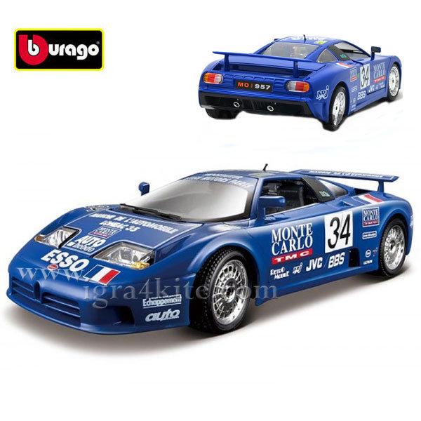 Bburago - Кола 1:18 Bugatti EB 110 Mini Mineria 18-11039