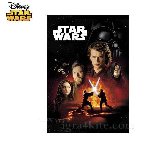 Star Wars - Тетрадка А4, 60листа Междузвездни войни