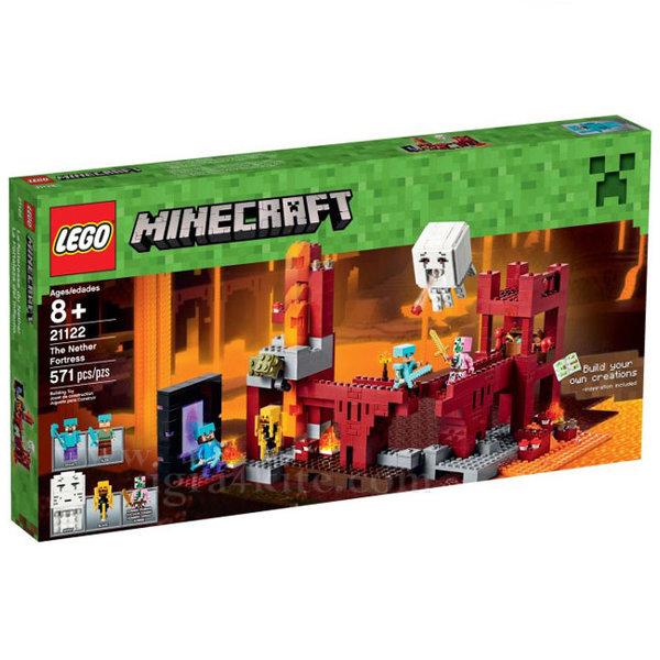 Lego 21122 Minecraft - Крепостта в отвъдния свят