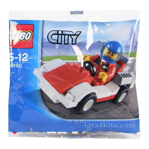 Lego 30150 City - Състезателна кола