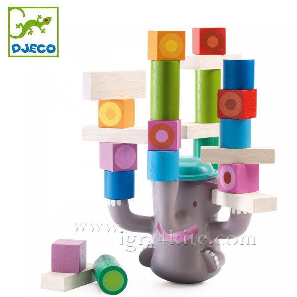 Djeco - Игра за баланс слонче 06321