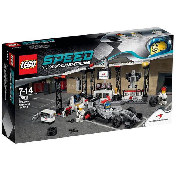 Lego 75911 Speed Champions - Пит-стоп на McLaren Mercedes