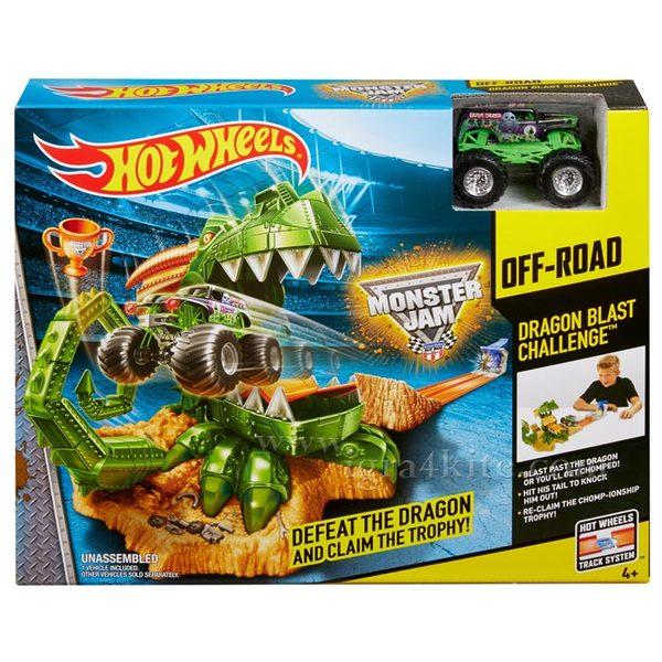 Hot Wheels - Писта Monster Jam Dragon Blast Challenge CCP74