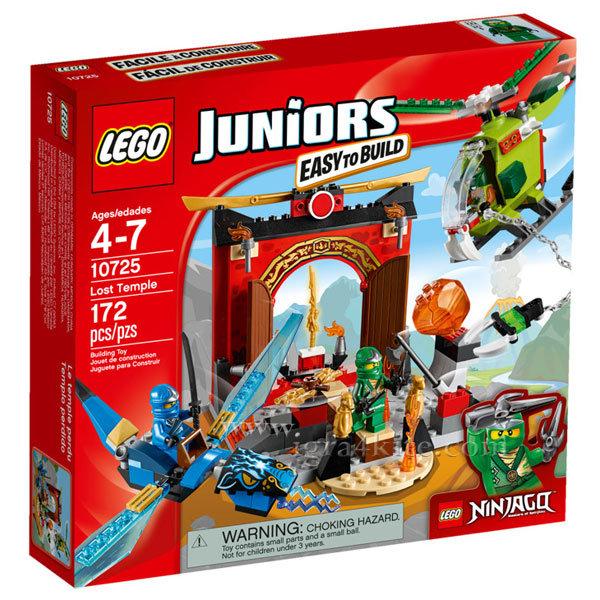 Lego 10725 Juniors Ninjago - Изгубеният храм