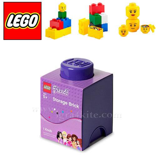 Lego 40011743 Аксесоари - Кутия за съхранение 1х1 Лего Френдс