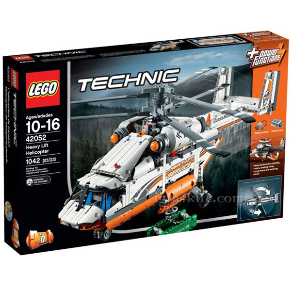Lego 42052 Technic - Тежкотоварен хеликоптер