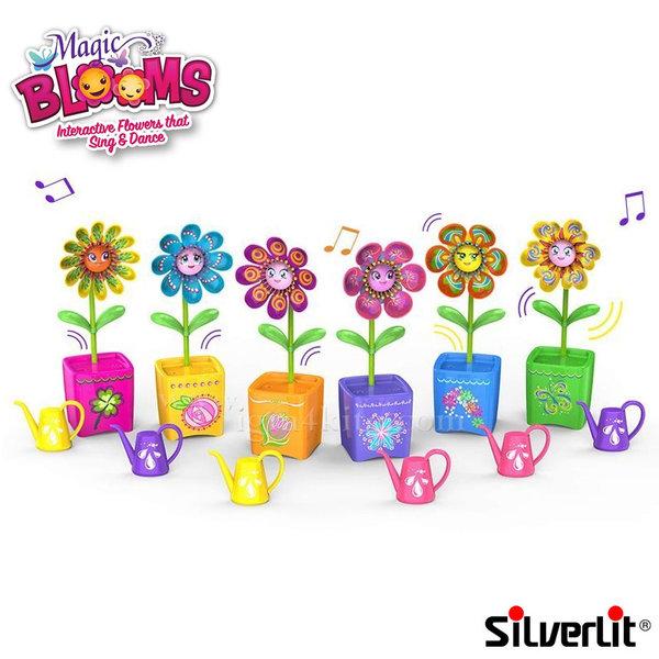 Silverlit - Magic Blooms Интерактивно цвете в саксия 88430