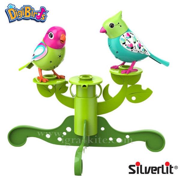 Silverlit - DigiBirds Дигитални пеещи птички на дърво 88237