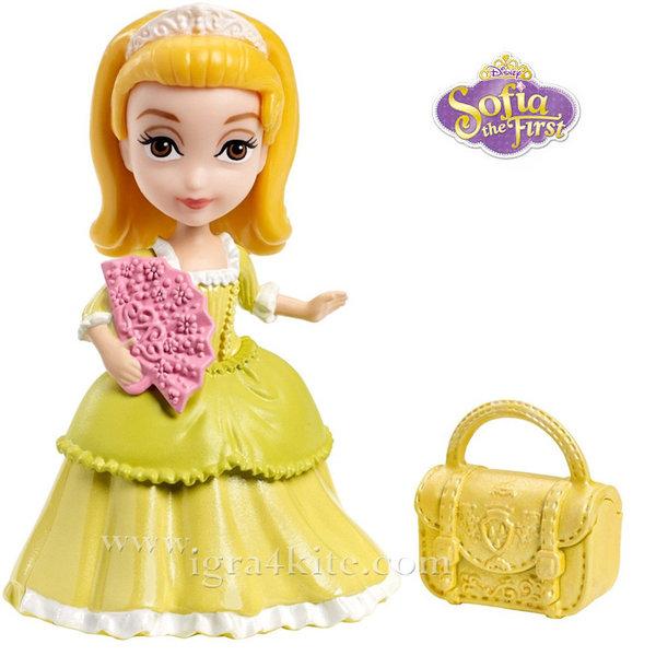 Disney Princess Sofia the First - Кукла Принцеса Амбър на колелца CJP98