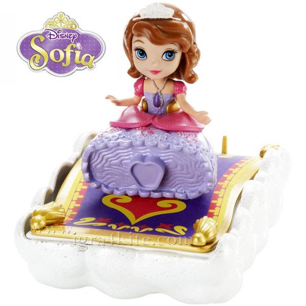 Disney Princess Sofia the First - Кукла Принцеса София Първа вълшебно килимче chj68