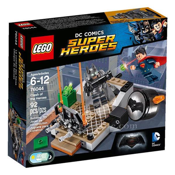 Lego 76044 Super Heroes - Сблъсъкът на героите