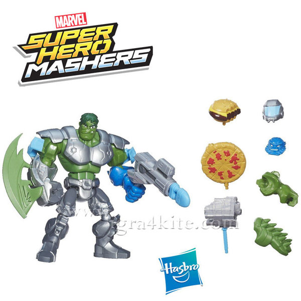 Marvel Avengers - Super Hero Mashers Игрален комплект Hulk B0677