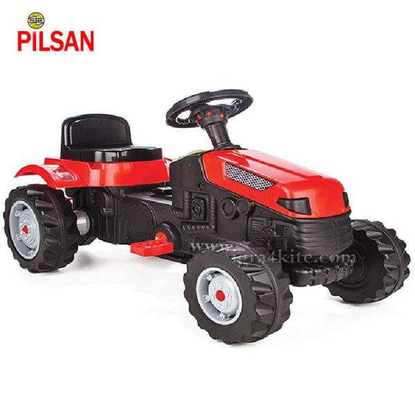 Pilsan - Детски трактор с педали Active Червен 07314