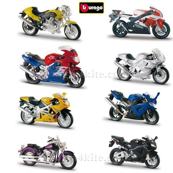 Bburago - Мотоциклети Колекция 1:18 - асортимент  093007