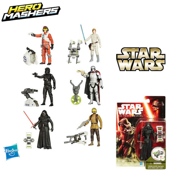 Star Wars Hero Mashers - Фигура Мездузвездни войни Епизод 7