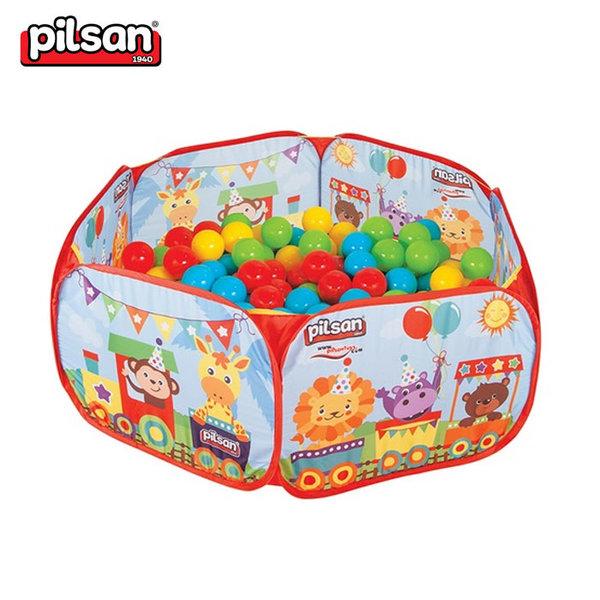 Pilsan - Детски сгъваем басейн с топки 06413