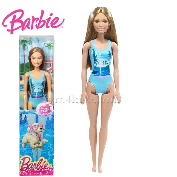 Barbie - Кукла Барби в бански костюм DWJ99