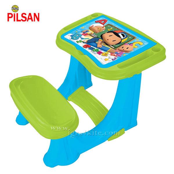 Pilsan - Детски чин с пейка Син 03433