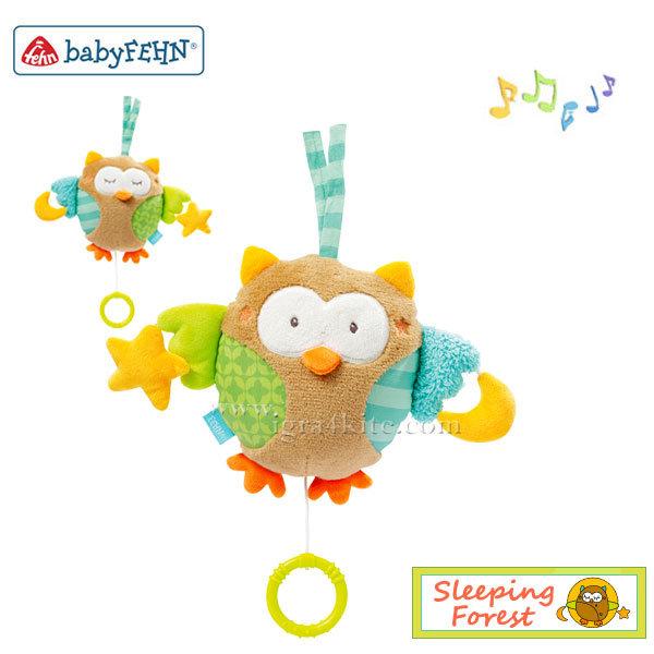 Baby Fehn - Музикален плюшен бухал 071047