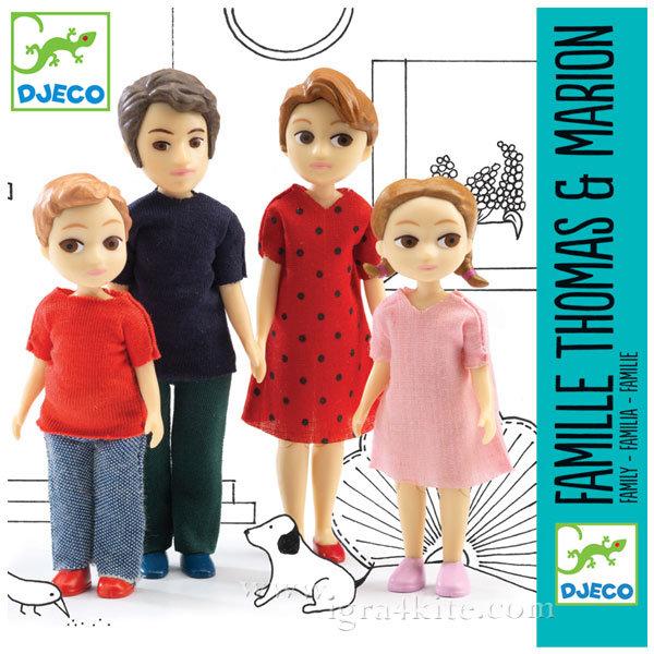 Djeco - Кукли фигурки семейство Томас и Марион dj07810