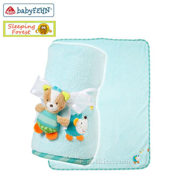 Baby Fehn Sleeping Forest - Бебешко одеалце лисица 071443