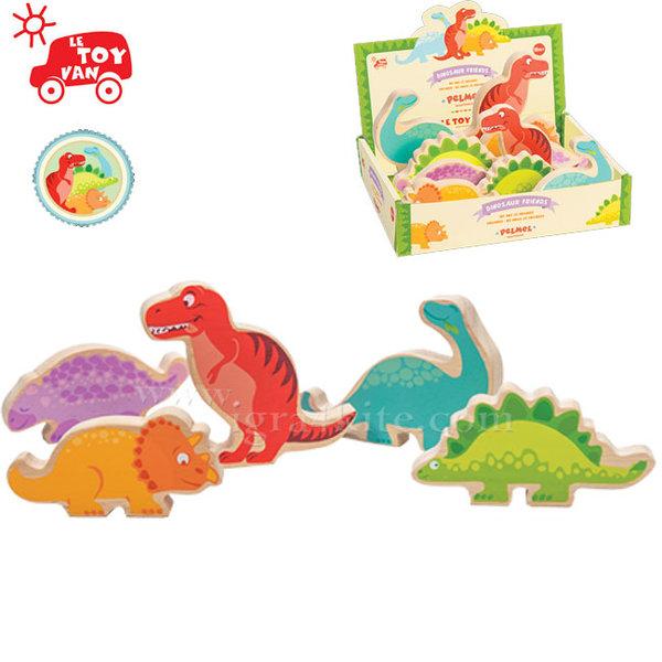 Le Toy Van - Дървен динозавър tv805