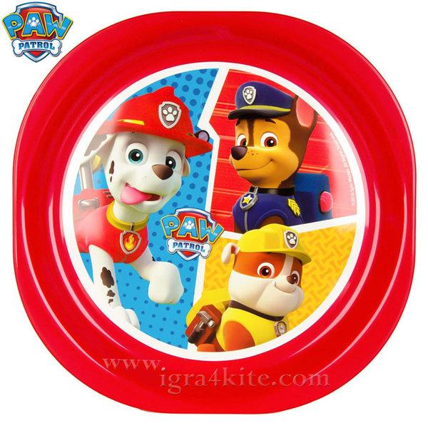 Paw Patrol - Детска чиния Пес Патрул 2567