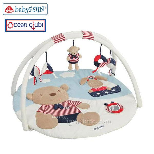 Baby Fehn - Бебешка 3D Активна гимнастика Мечо и Зайче 078220