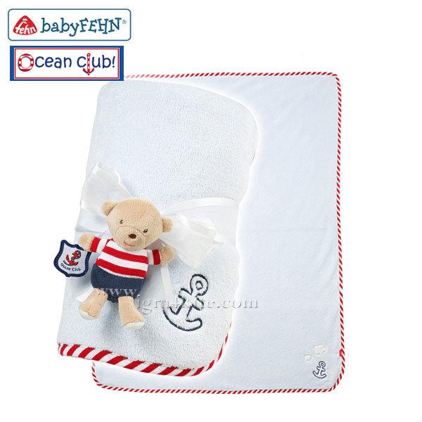 Baby Fehn - Бебешко одеалце Мечо 078725