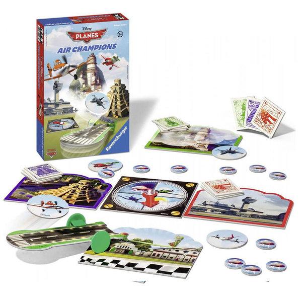 Ravensburger - Детска игра Disney Надпреварата на самолетите 708007